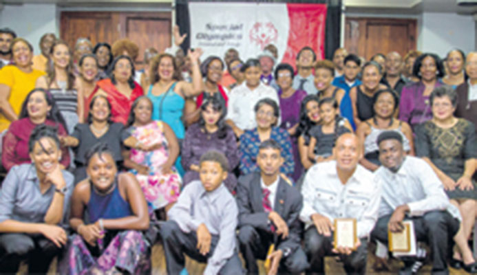 Athletes, coaches, sponsors, friends and family came together to celebrate at the Special Olympics National Awards ceremony held last Saturday at the Hasely Crawford Stadium in Port-of-Spain.
