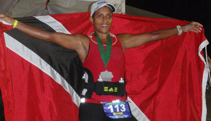 Trinidad and Tobago Olympic Committee (TTOC) Vice President, Diane Henderson