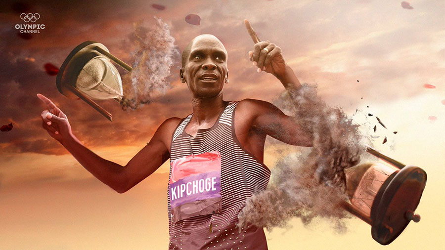 HISTORY MADE.@EliudKipchoge becomes the first athlete to run a marathon in under two hours.  Vienna, Austria. 12 October 2019.#INEOS159 #NoHumanIsLimited